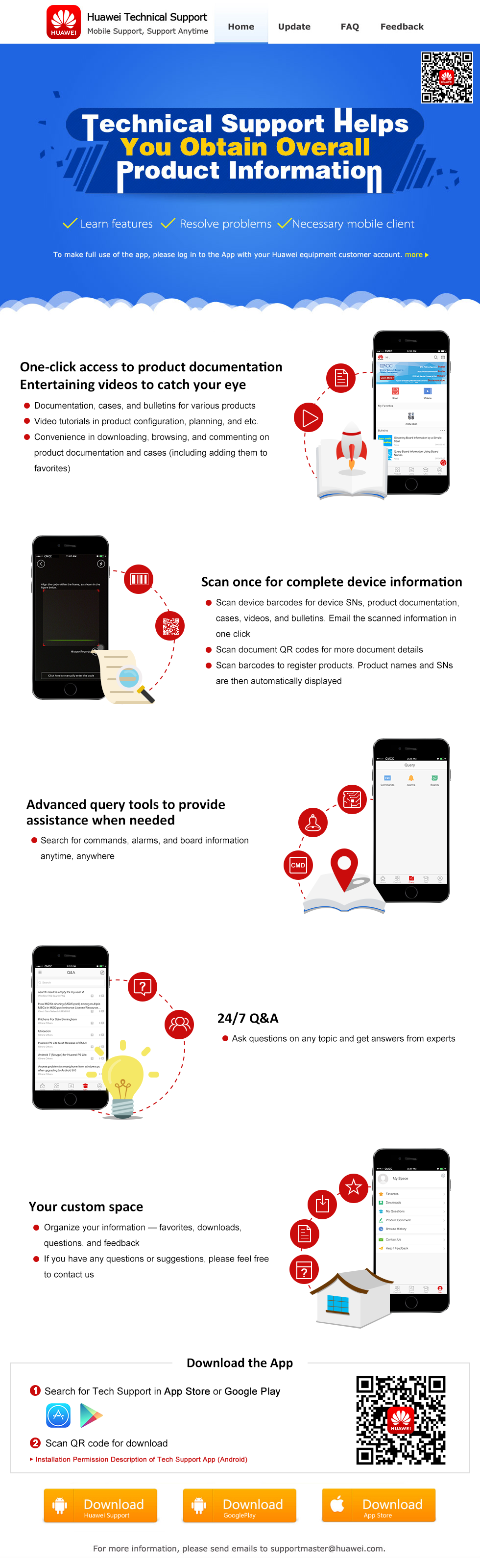 Huawei Techinical Support App,Huawei Support mobile